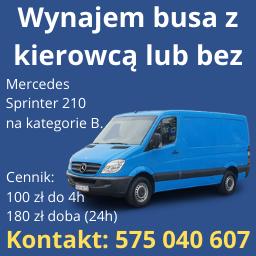 Bus wynajem