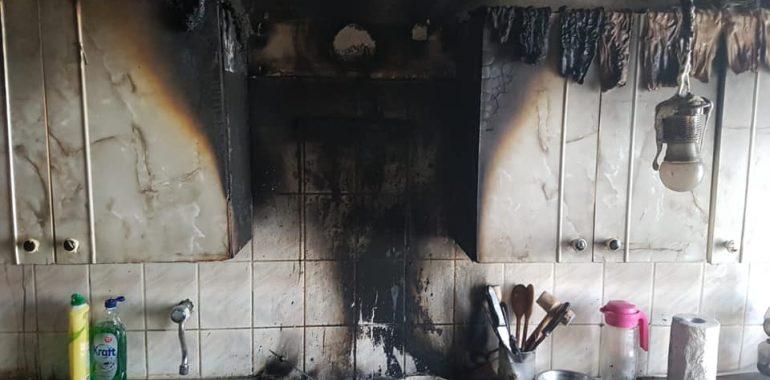 Pożar Kowale Oleckie