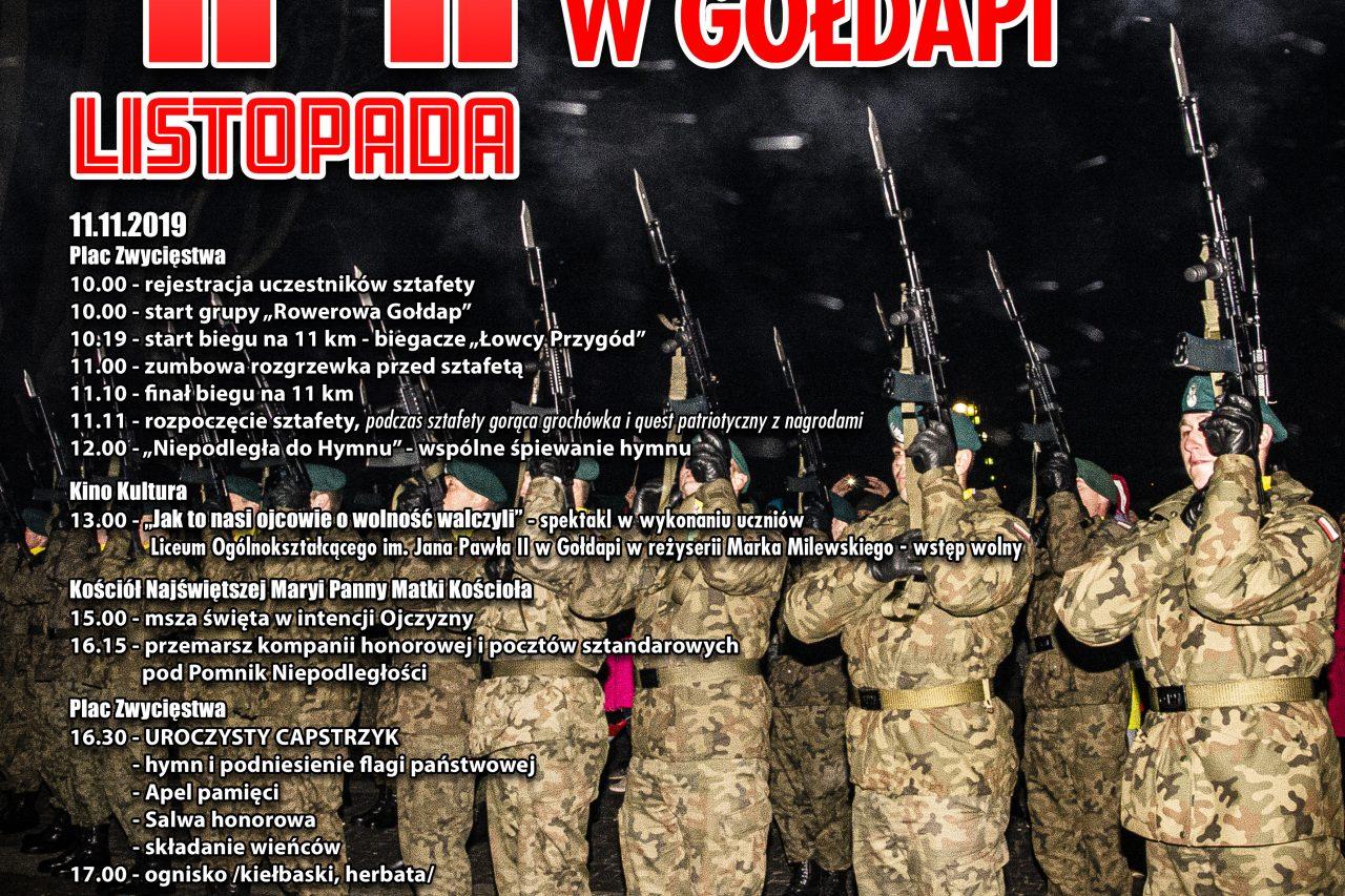 Narodowe Święto Niepodległości w Gołdapi.