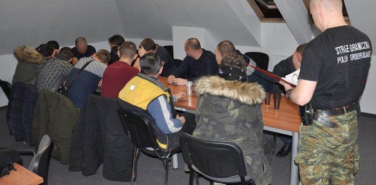 Obywatele Ukrainy nielegalnie zatrudnieni na budowie