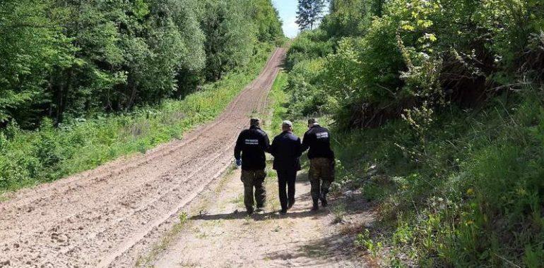 Próba nielegalnego przekroczenia granicy