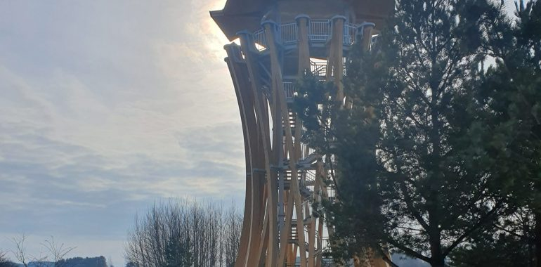 Wieża widokowa w Stańczykach – nowa atrakcja turystyczna