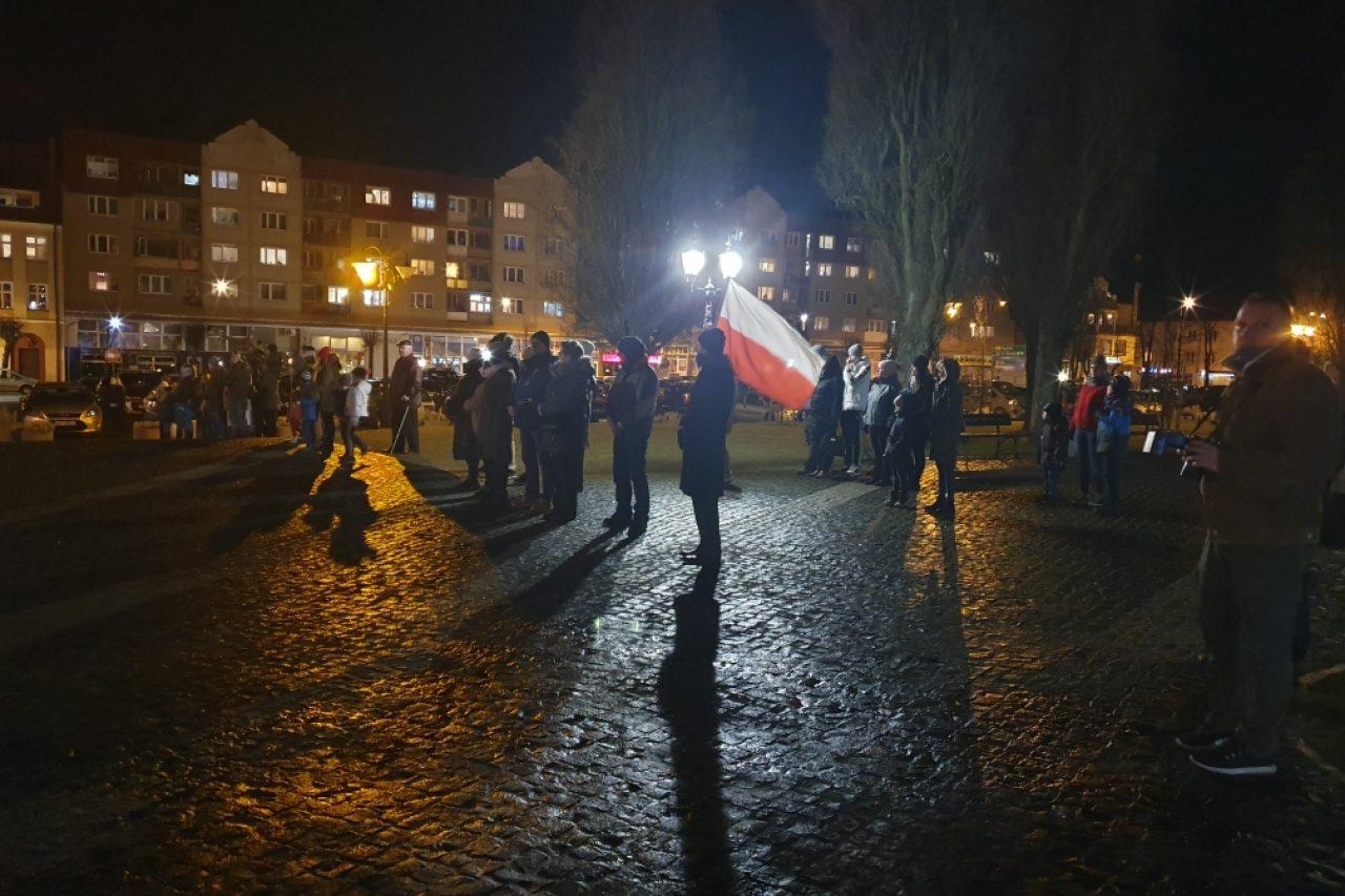 """Obchody Narodowego Dnia """"Żołnierzy Wyklętych"""" w Gołdapi"""