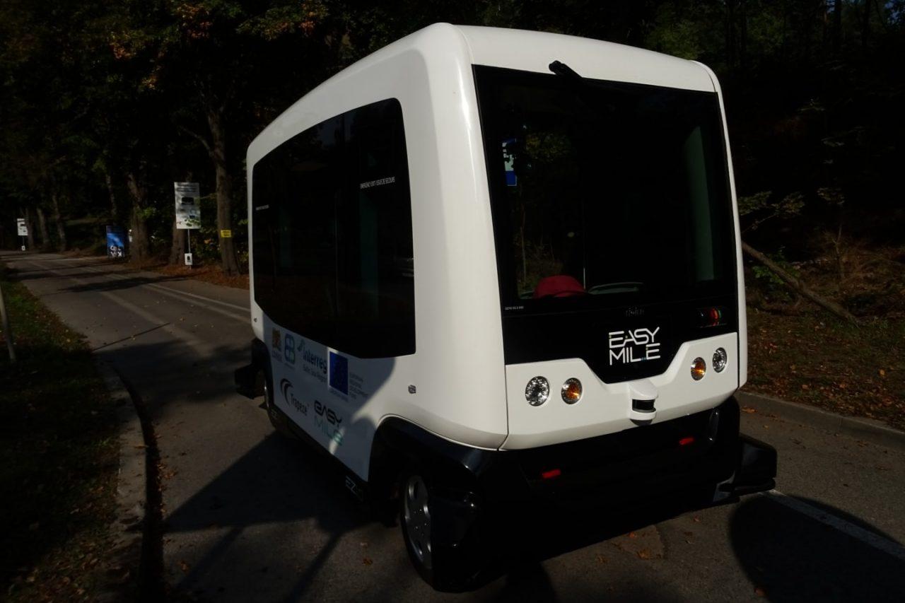 Pierwszy pojazd bez kierowcy w transporcie publicznym. (zdjęcia)