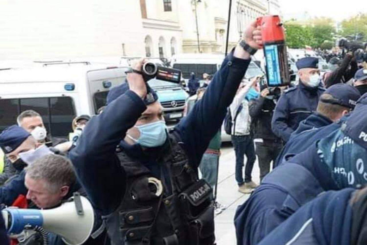 Strajk przedsiębiorców – zatrzymany parlamentarzysta