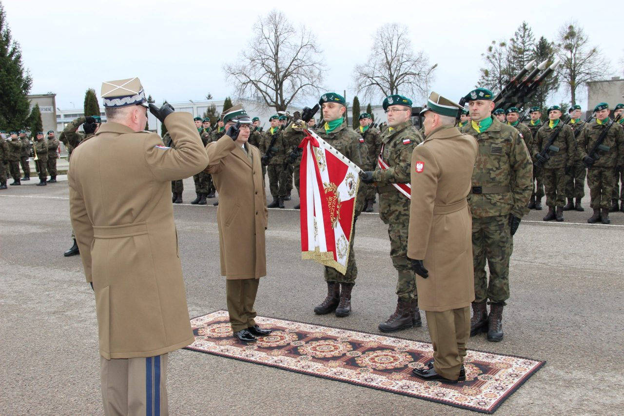 Zmiana dowódcy 15. Gołdapskiego Pułku Przeciwlotniczego