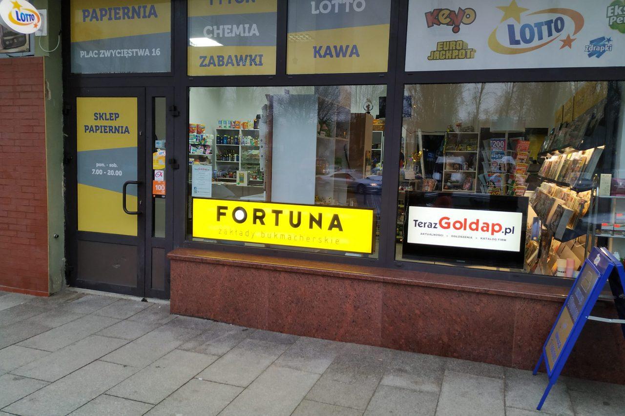 Odwiedziliśmy nowy punkt Fortuny w Gołdapi