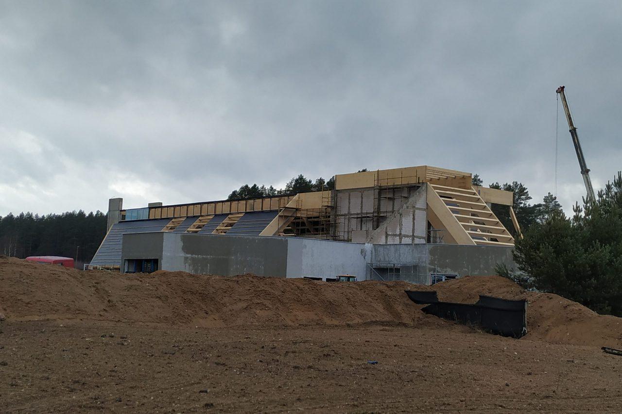 Trwa budowa Zakładu Przyrodoleczniczego w Gołdapi