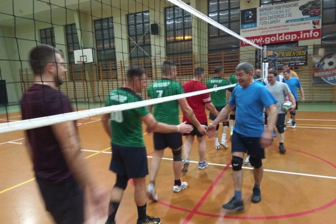 Wyniki II kolejki Gołdapskiej Amatorskiej Ligi Piłki Siatkowej