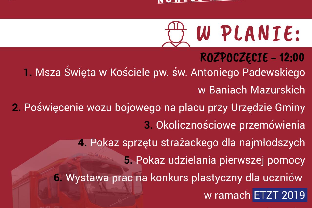 Piknik w Baniach Mazurskich.