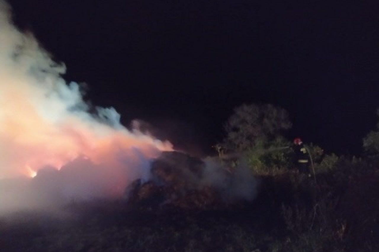 Pożar w Grabowie.