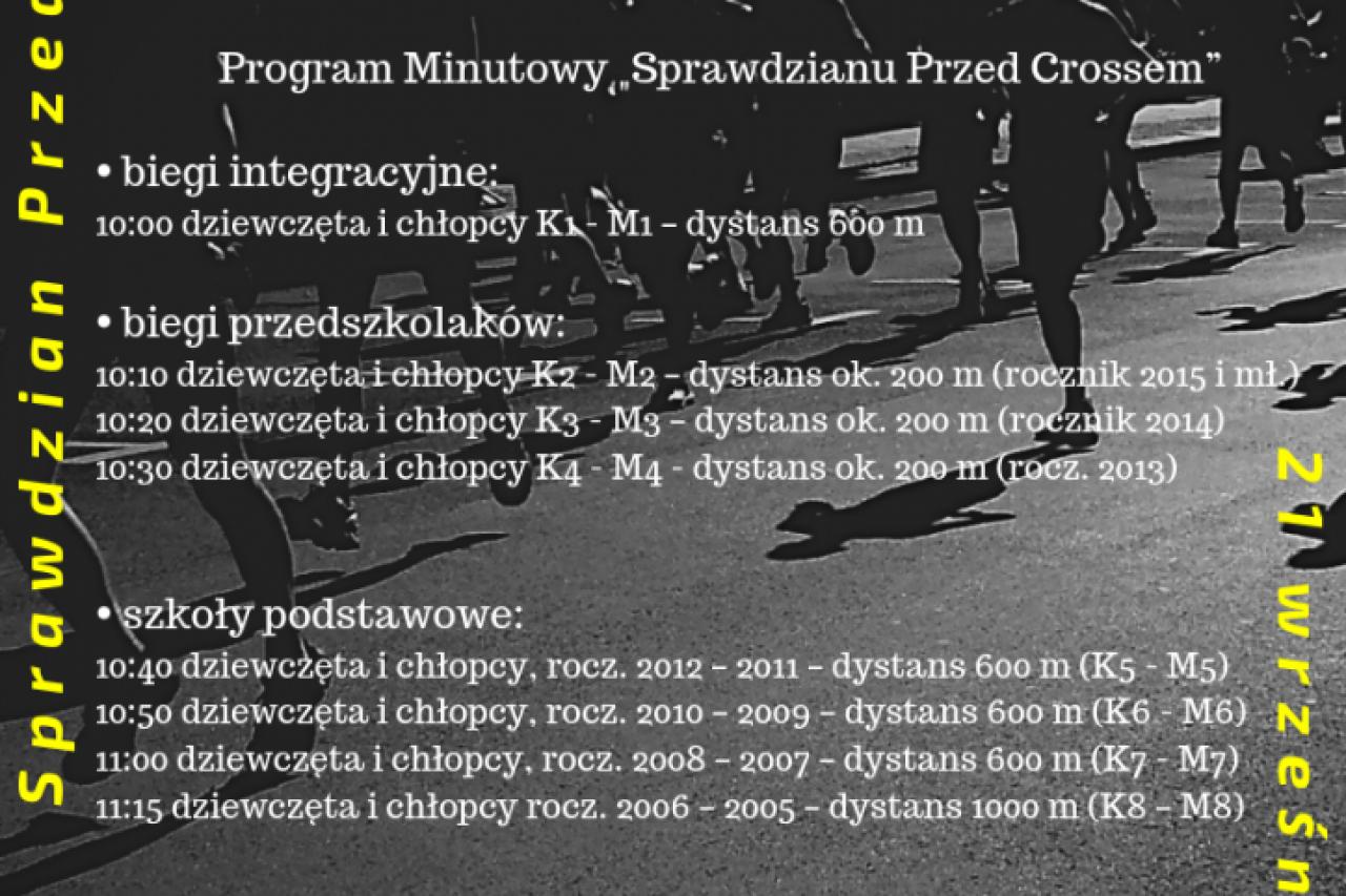 """I rzut Gołdapskiej Ligi Biegów Przełajowych – """"Sprawdzian Przed Crossem"""""""