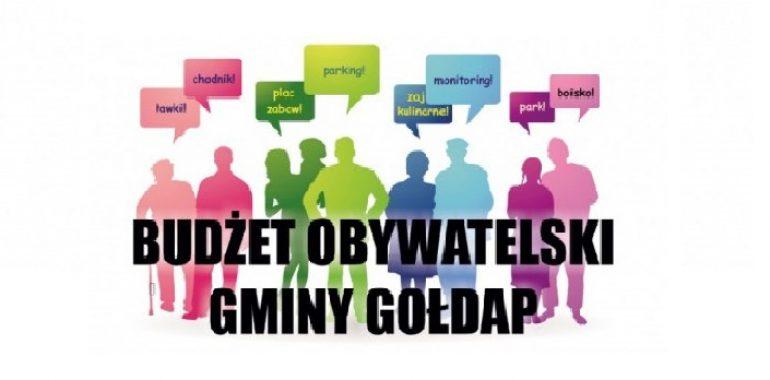 Wyniki Budżetu Obywatelskiego Gminy Gołdap na 2020 rok