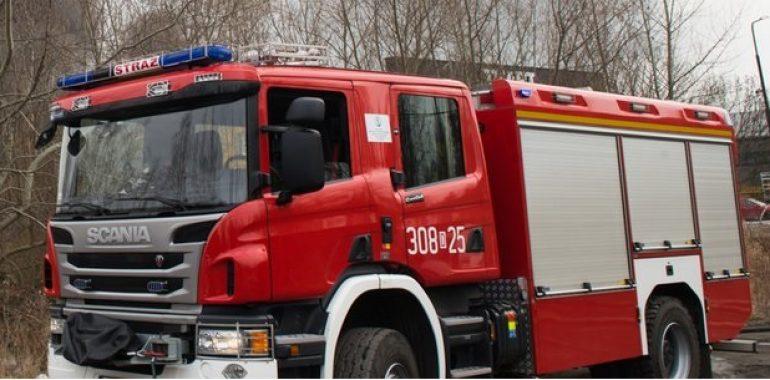 Gołdap: Wybuchł piec CO