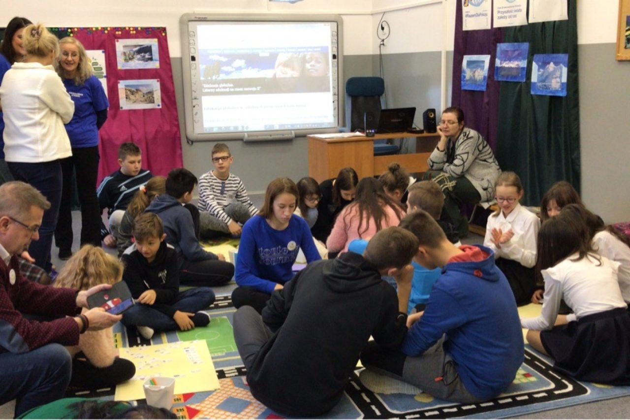 Tydzień Edukacji Globalnej w Szkole Podstawowej w Pogorzeli