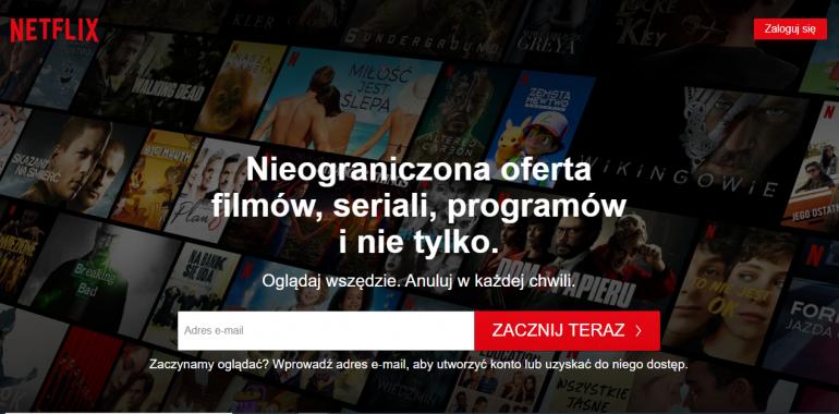 "Sejm uchwalił podatek ""od Netfliksa"""