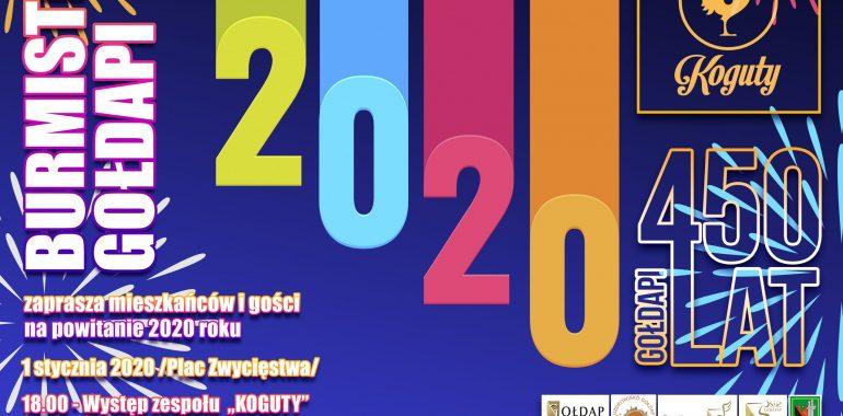 Powitanie 2020 roku