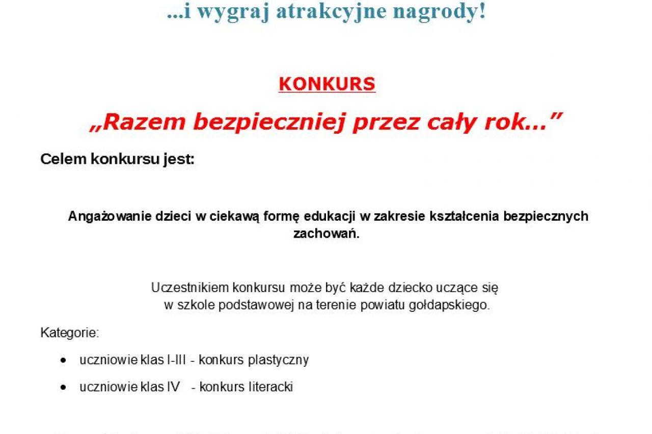 KONKURS RYMOWANKI – KOLOROWANKI. Atrakcyjne nagrody!