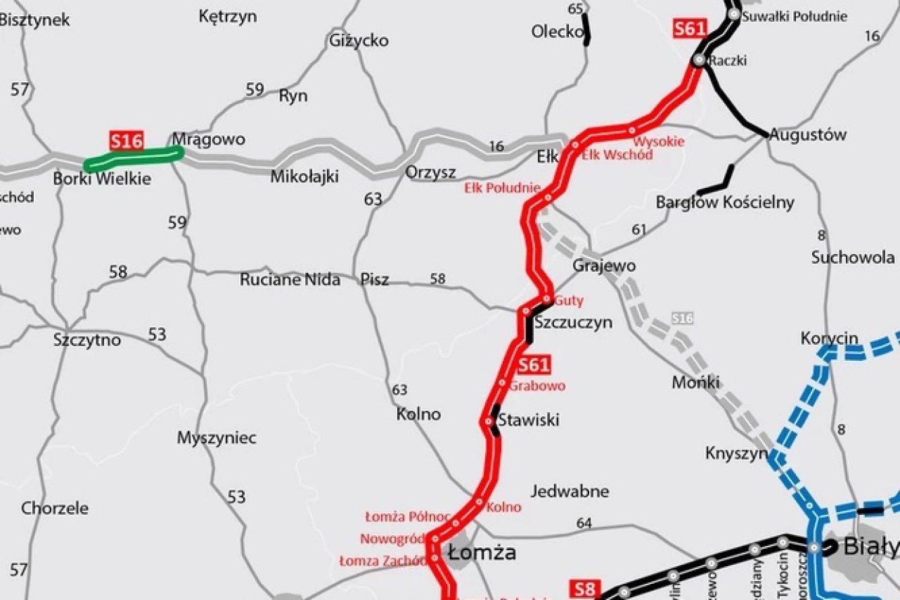 Rozstrzygnięto ostatnie przetargi na budowę Via Baltica