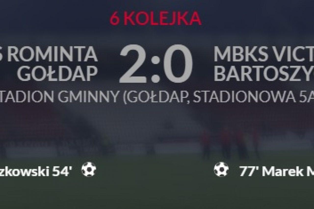 MKS Rominta Gołdap zajmuje pierwsze miejsce w tabeli!